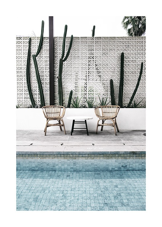 Pool Edge Poster / Photographs at Desenio AB (10671)