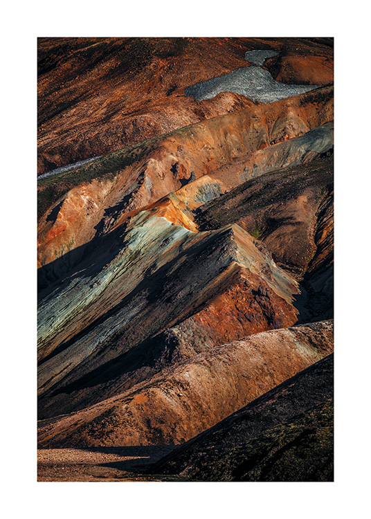 Abstract Mountains Poster / Nature prints at Desenio AB (11153)