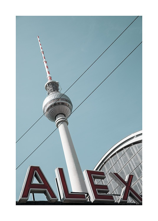 Alexanderplatz Poster / 50x70 cm | 19 ⅝ x 27 ½ in at Desenio AB (11410)