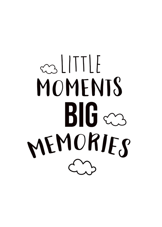 Little Moments Poster / Kids wall art at Desenio AB (11442)