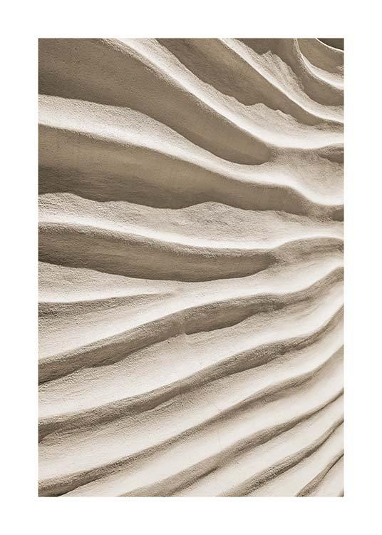 Sand Texture Poster / Nature prints at Desenio AB (11711)
