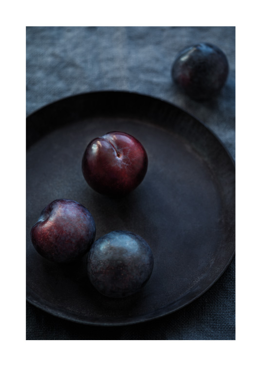 Winter Plums Poster / Kitchen at Desenio AB (11836)