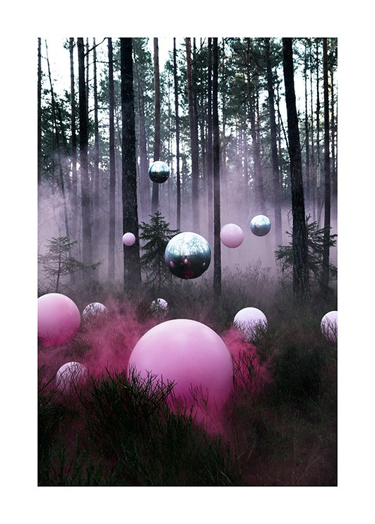 The Mysterious Forest Poster / 50x70 cm | 19 ⅝ x 27 ½ in at Desenio AB (12174)