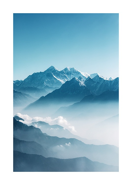 View of Mount Everest Poster / Nature prints at Desenio AB (12535)