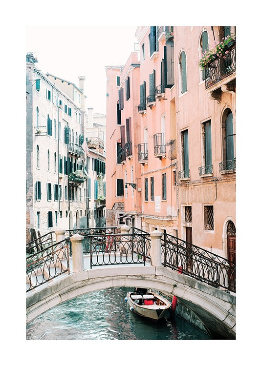 Canal in Venice Poster