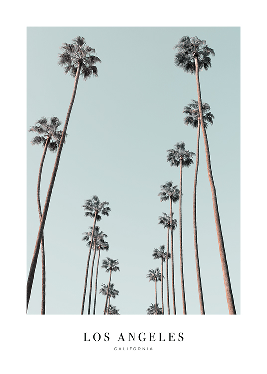 Travel To Los Angeles Poster