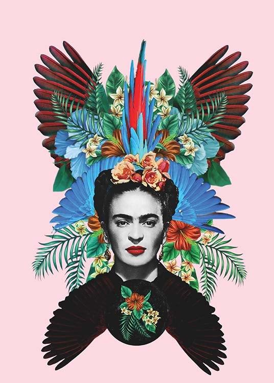 Frida kahlo poster for Cuartos decorados de frida kahlo