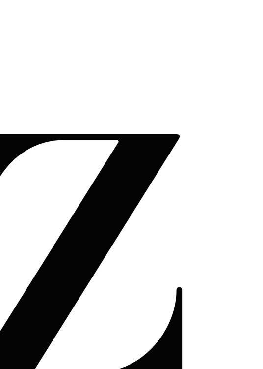 Letter Z Pictures.Letter Z Poster