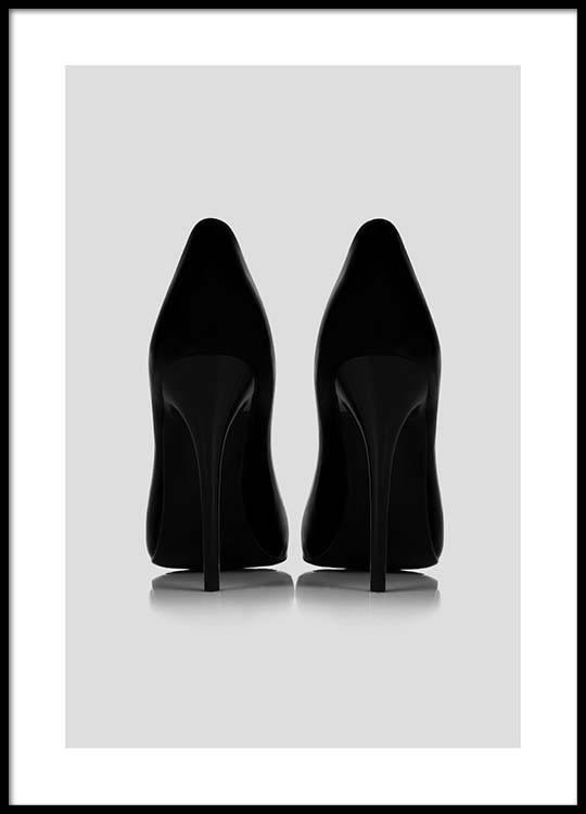 Black Pumps Poster - Black pumps
