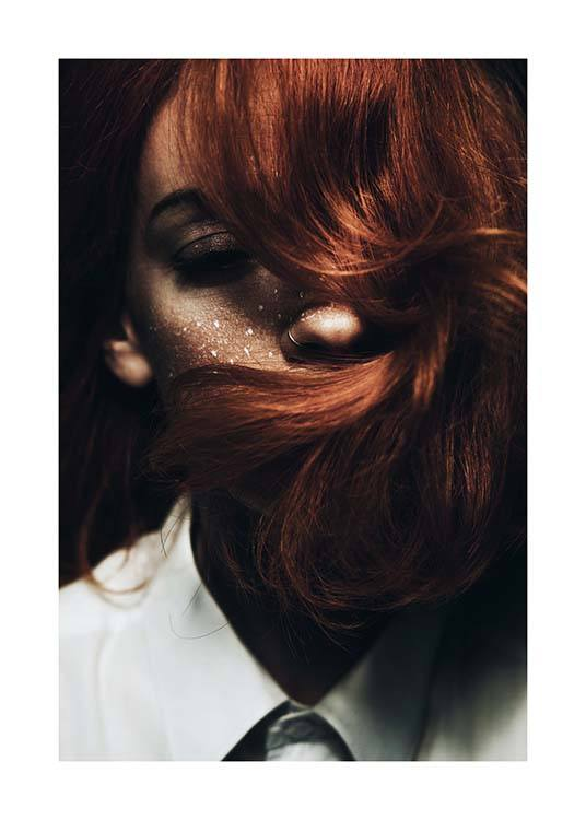 Red Hair Poster / Photographs at Desenio AB (2963)