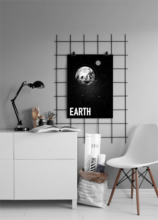 Earth Poster in the group Prints / Sizes / 50x70cm | 20x28 at Desenio AB (3169)