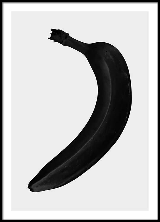 black banana poster