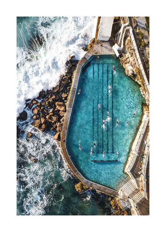 Bronte Swimming Pool Poster / Nature prints at Desenio AB (3584)