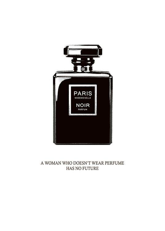 Fashion Poster Perfume Bottle Chanel Print Desenio