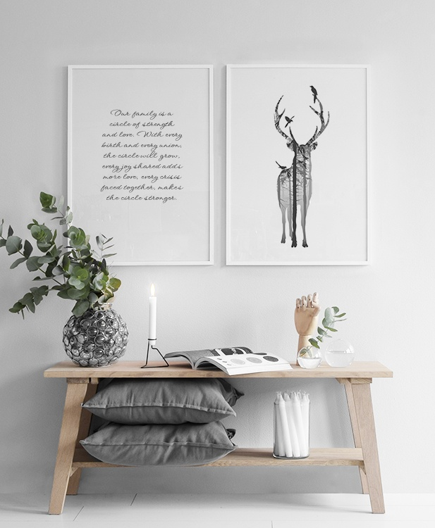 Print with Scandinavian art design | Posters and prints ...