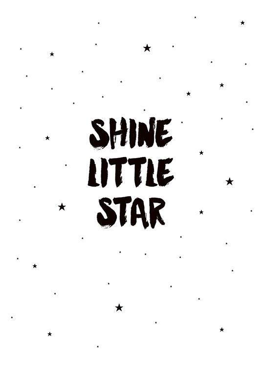 Shine Little Star, Posters / Kids wall art at Desenio AB (7789)