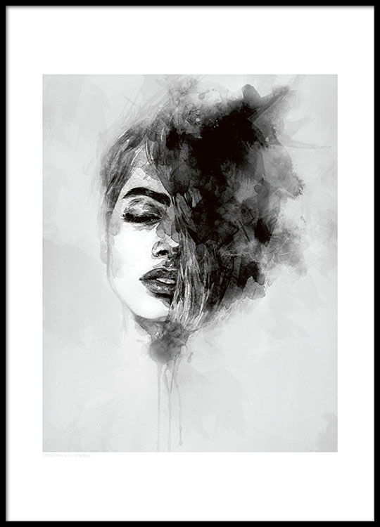 Black and white posters and prints online