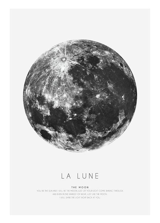 La Lune, Poster