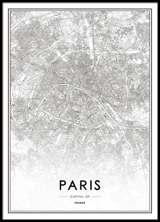 Posters and prints with maps