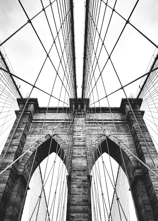 Brooklyn Bridge, Poster / Photographs at Desenio AB (8213)