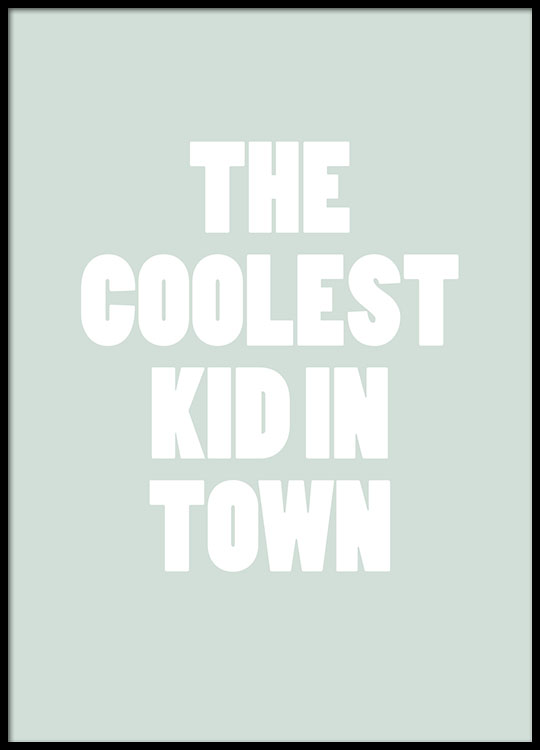 cute poster for kids coolest kid typography kids posters for kids