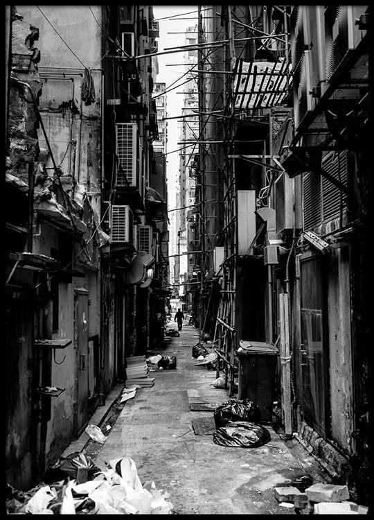 Hongkong street poster