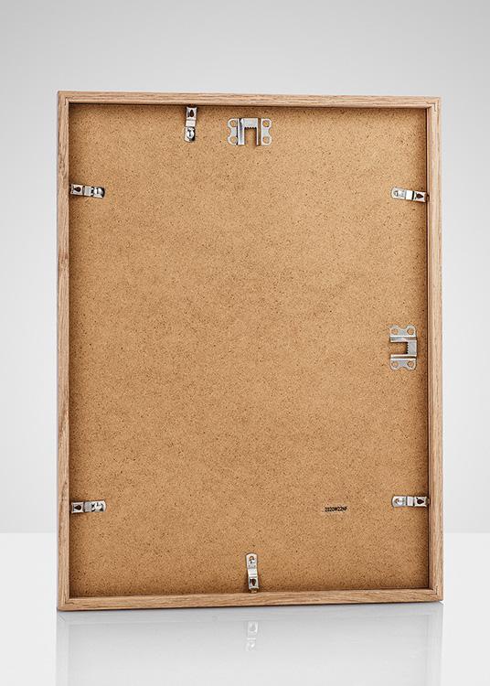 oak frame for posters measuring 30 x 40 cm. Black Bedroom Furniture Sets. Home Design Ideas
