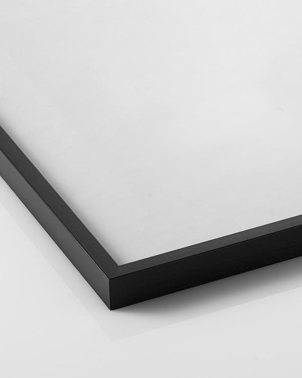 black picture frame measuring 40 x 50 cm. Black Bedroom Furniture Sets. Home Design Ideas