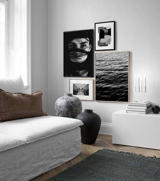 Picture Wall Inspiration For Living Room | Posters | Desenio Part 64