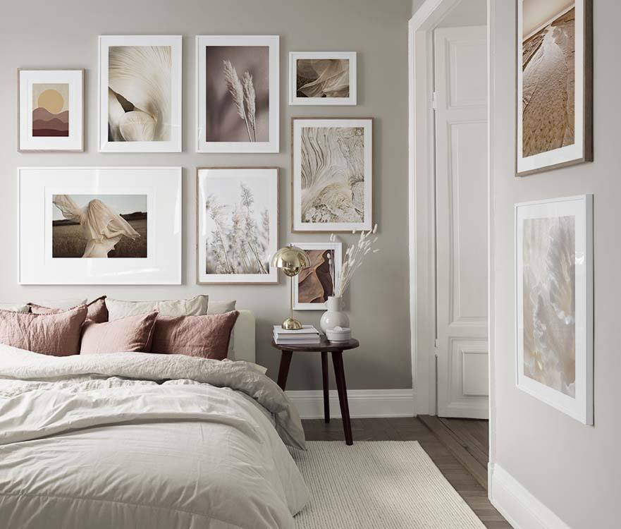 Bedroom inspiration   Posters and art prints in picture ...