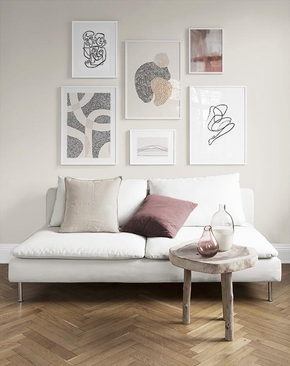 Merveilleux Living Room Ideas | Wall Art For Living Room   Desenio.co.uk