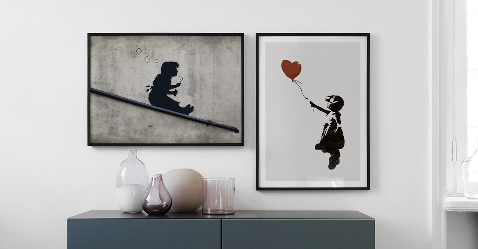 Banksy artwork online. Posters and wall art from Desenio